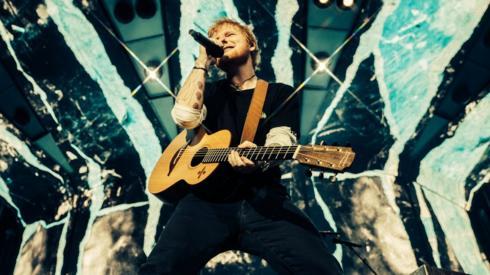 Ed Sheeran in Ipswich