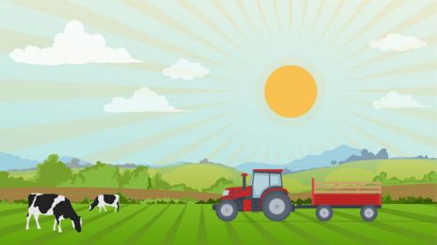 Farming illustration