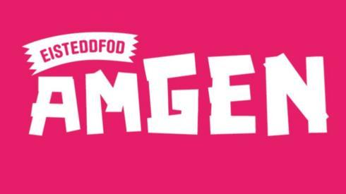 Logo cynllun Eisteddfod AmGen