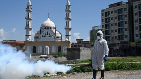 Spraying in Islamabad