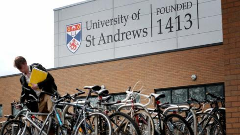 Student at St Andrews University