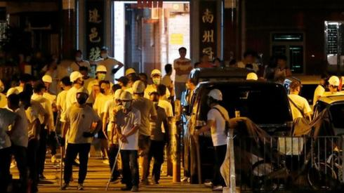 Yuen Long mob violence in Hong Kong