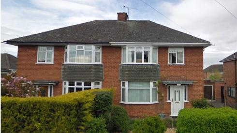 Philip Edwards' former home