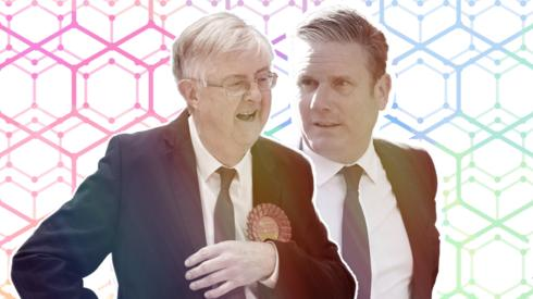 Mark Drakeford and Keir Starmer