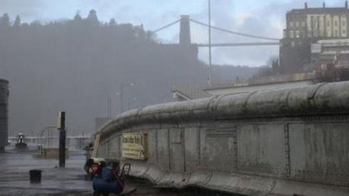 Image of Brunel's 'other bridge' in Bristol