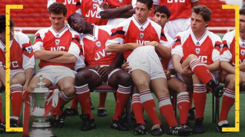 Arsenal team squad of 1993-94