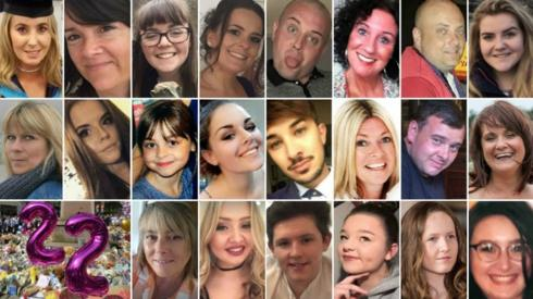 Top (left to right): Lisa Lees, Alison Howe, Georgina Callender, Kelly Brewster, John Atkinson, Jane Tweddle, Marcin Klis, Eilidh MacLeod - Middle (left to right): Angelika Klis, Courtney Boyle, Saffie Roussos, Olivia Campbell-Hardy, Martyn Hett, Michelle Kiss, Philip Tron, Elaine McIver - Bottom (left to right): Wendy Fawell, Chloe Rutherford, Liam Allen-Curry, Sorrell Leczkowski, Megan Hurley, Nell Jones