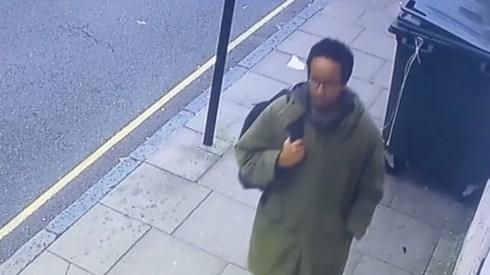 CCTV footage showing Ali Harbi Ali