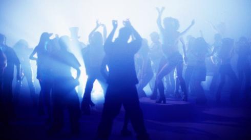 Dancers in club