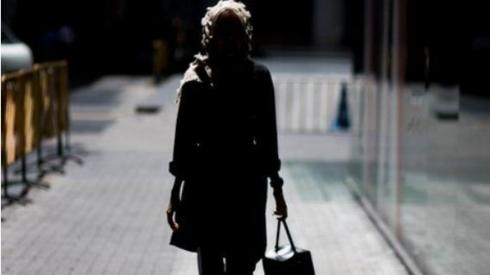Lone woman