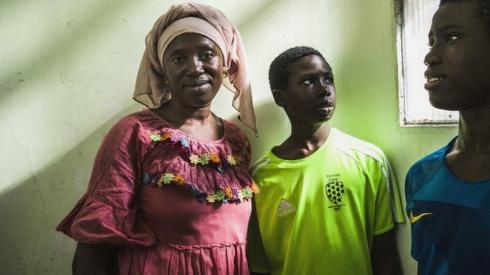 Aminata, Lassana and Mohamadou Diaby