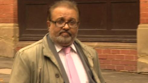 Chetan Pal Panesar outside court