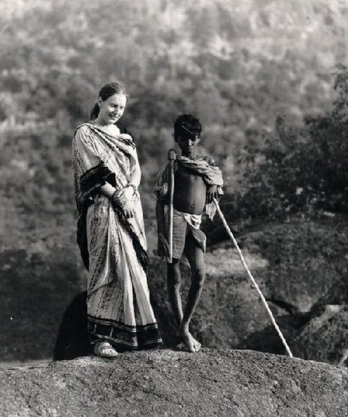 Charlotte Von Schedvin in India