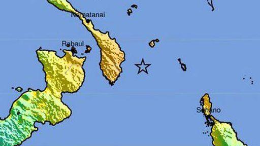 Terremoto de magnitud 7,9 causa una alerta de tsunami en Papúa Nueva Guinea