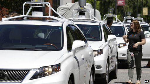 Google robot cars