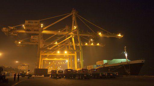 Chittagong port