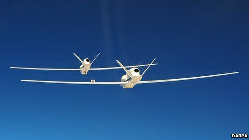 Drones testing fuelling in the air