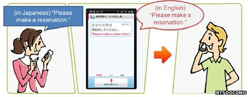 Graphic for NTT Docomo app