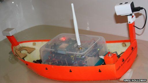 Fish Pi proof of concept vehicle