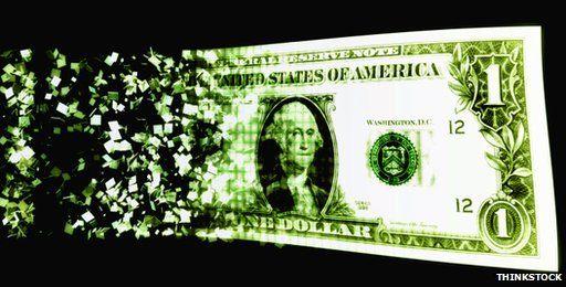 Digital dollar bill