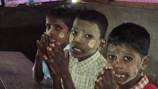 Tamil students in Burma