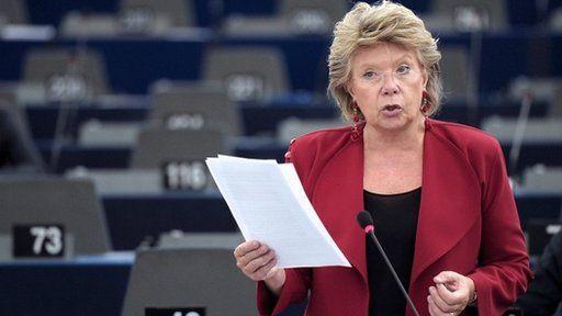 Viviane Reding, EU commissioner for Justice