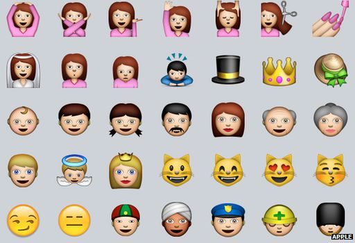 Apple Seeks Greater Emoji Racial Diversity Bbc News