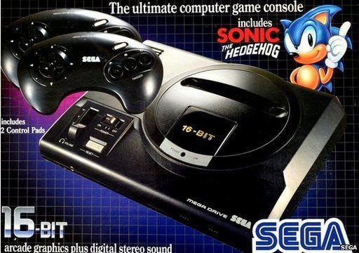 Sega Mega Drive box