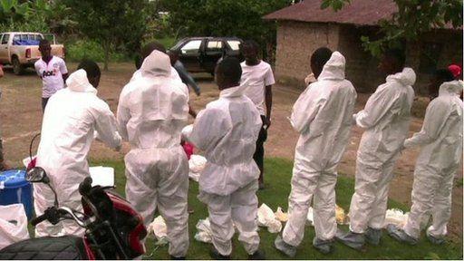 Yr awdurdodau yn Liberia yn delio gyda'r feirws Ebola