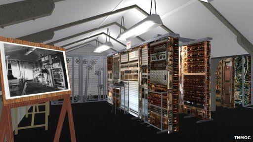 Screenshot of virtual Colossus
