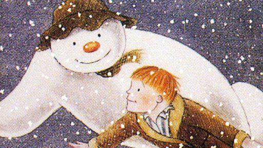 Bydd Aled yn cael ei gysylltu efo'r The Snowman