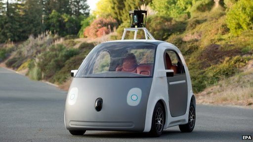 Google autonomous car