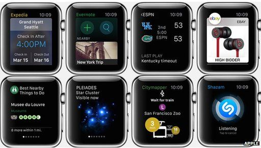 Watch apps
