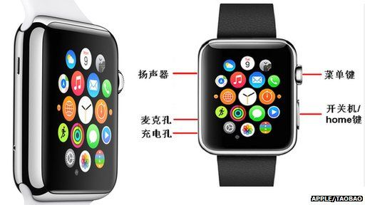 Apple and AW08 watch