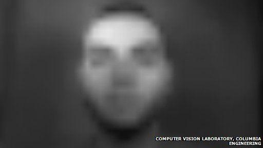 Self-powered camera image