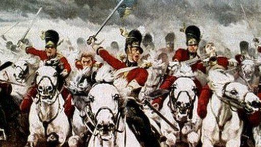 Painting of Waterloo