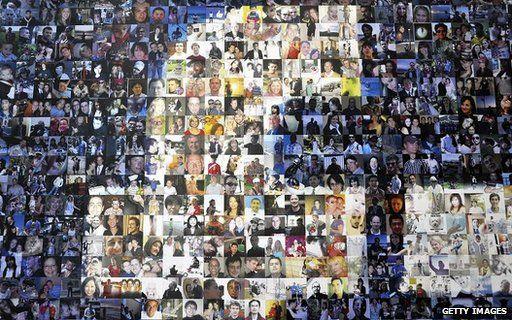 Facebook profile collage