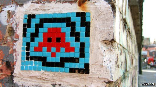 Space Invaders art