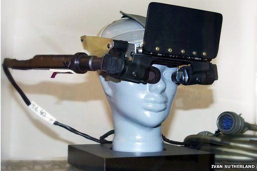 Ivan Sutherland's head-mounted display
