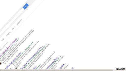 Google 'do a barrel roll' egg