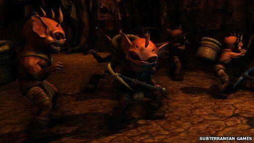 Screenshot from War for the Overworld