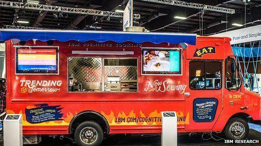 The IBM food truck