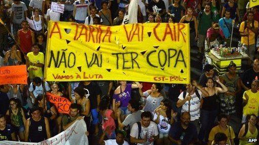 Brasil Protest