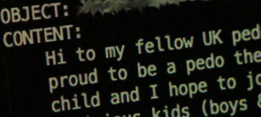 Paedophile chat room
