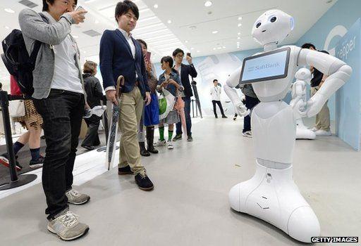 Softbank robot