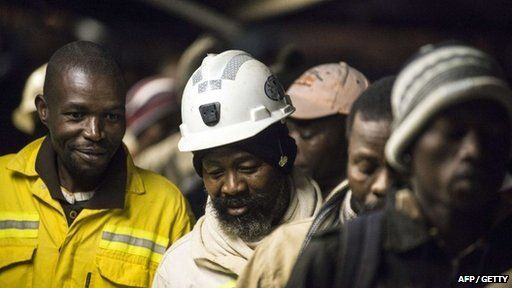 miners returning to work