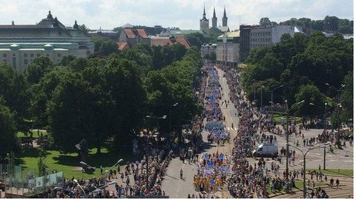 Gorymdaith Estonia