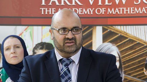 Mr Alam said the Park View Educational Trust board had been left with no choice but to step down
