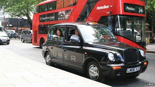 Uber black cab
