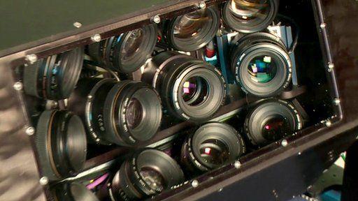 12 high resolution cameras